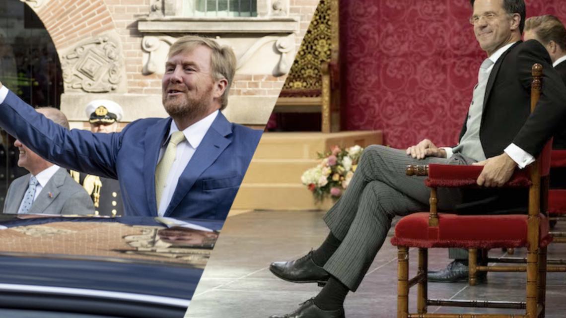 Mark Rutte vind het 'niet nodig' om meer openheid te geven over inkomen Oranjes